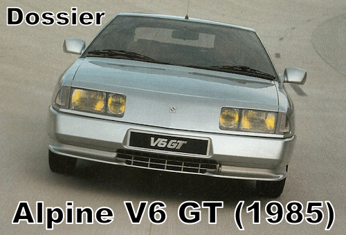 Alpine V6 Turbo Mille Miles (1989-1990)
